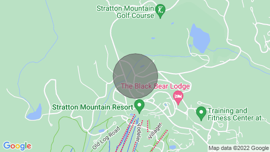 Stratton Mountain Chalet - Walk to Private Shuttle Map