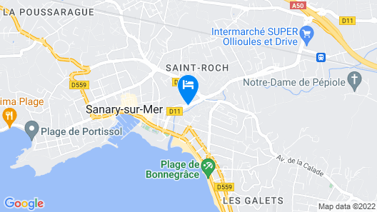 Best Western Plus Soleil Et Jardin Map
