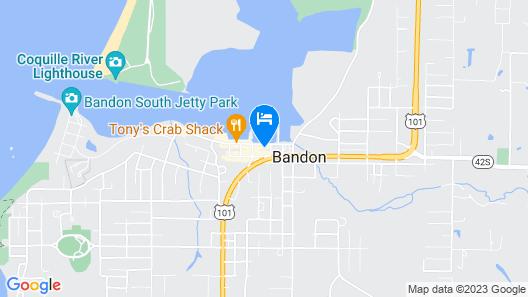 Bandon Marina Inn Map