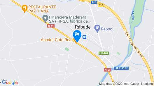 Hotel Coto Real Map