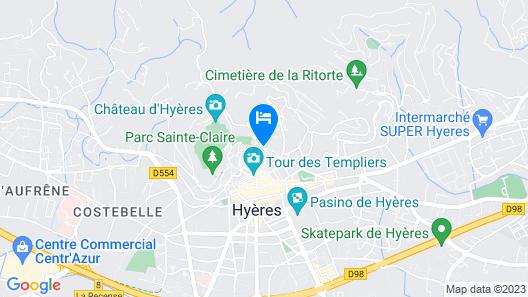 Hotel du Soleil Map