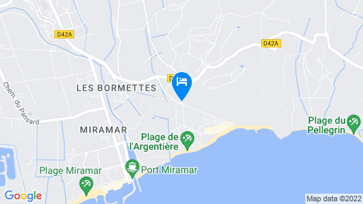 Résidence Odalys Les Océanides Map