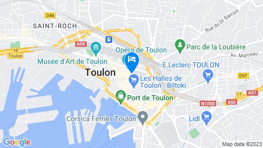 Grand Hôtel Dauphiné, Boutique Hôtel & Suites Map