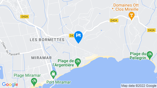 Well-kept Apartment Close to the Beaches of the Côte D'azur Map