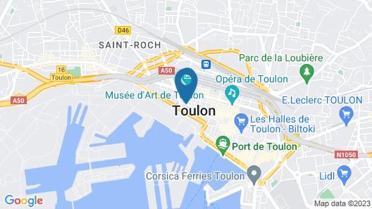 Hotel Le Jaures Map