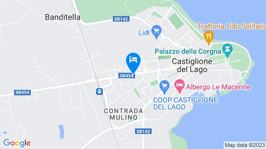 Hotel Duca della Corgna Map