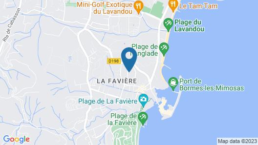 Hôtel La Voile Map