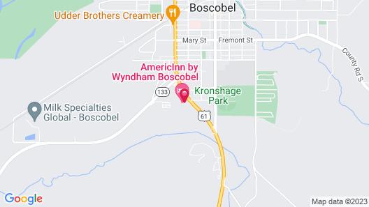 AmericInn by Wyndham Boscobel Map