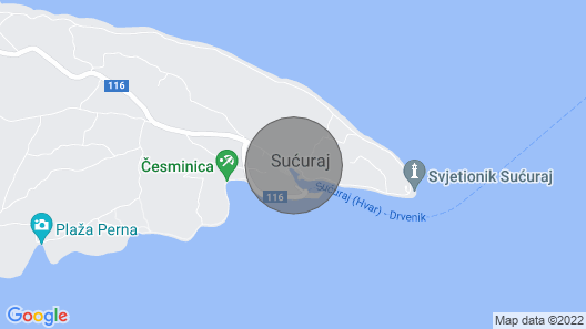 1 Bedroom Accommodation in Sucuraj Map