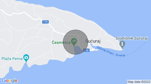 Stunning Home in Sucuraj With Wifi and 1 Bedrooms Map
