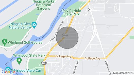 Minutes To Niagara Falls State Park Map