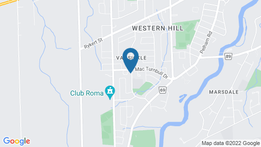Western Hill Almost New House Map
