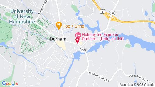 Holiday Inn Express Durham Map