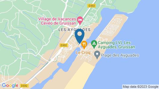 Belambra Clubs Gruissan - Les Ayguades Map