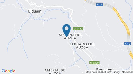 Casa Baztarretxe Map