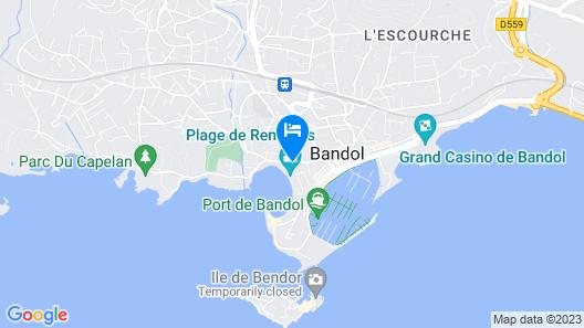 Hôtel Le Provençal Map