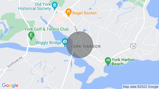1920s Cottage in the Heart of York Harbor Map