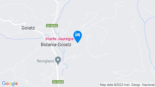 Hotel Iriarte Jauregia Map