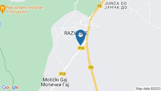 Lazar&Mila Apartments Map