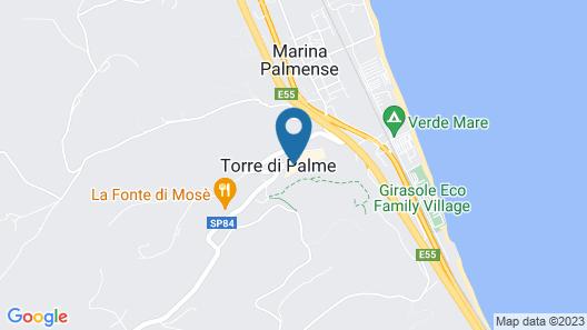 Villa Lattanzi Map