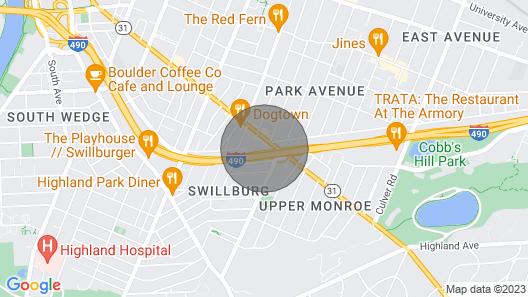 .?modern Loft on Monroe by Downtown Park/east Ymca Map