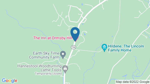 The Inn at Ormsby Hill Map