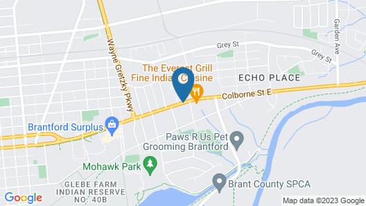 Mohawk Motel Map