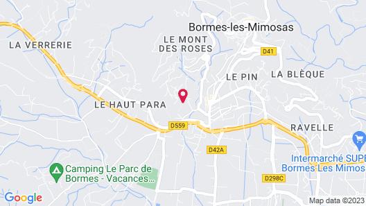 Hôtel Paradis Map