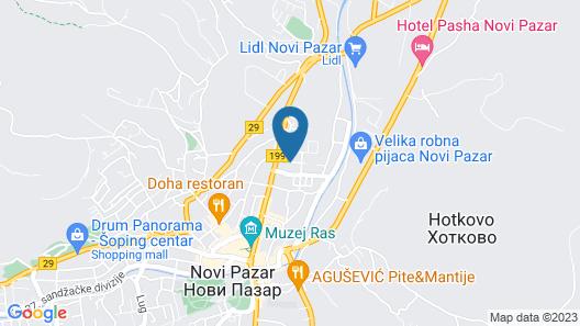 Lepi Apartments Map