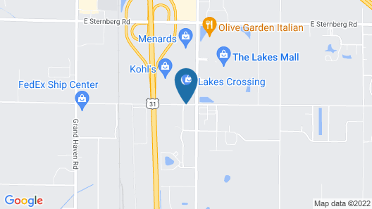 Fairfield Inn and Suites by Marriott Muskegon Norton Shores Map