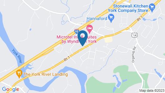 Best Western York Inn Map