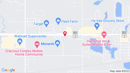 Holiday Inn Express and Suites Mason City, an IHG Hotel Map