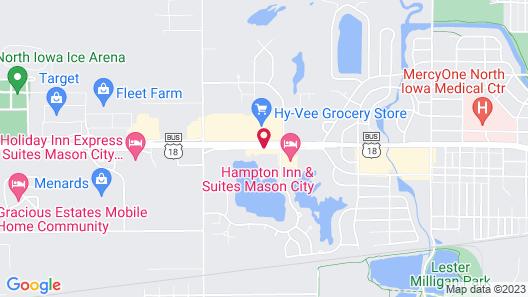 Days Inn by Wyndham Mason City Map