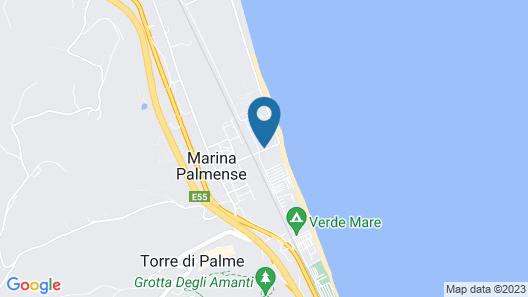 Hotel Palmensis Map