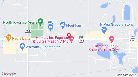 Super 8 by Wyndham Mason City Map