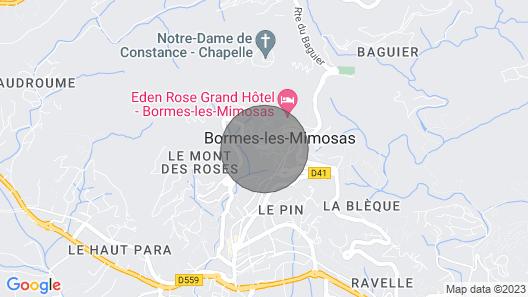 Apartment Village de Bormes les Mimosas in Bormes-les-mimosas - 4 Persons, 1 Bedrooms Map