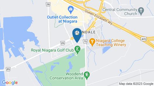 Niagara on the Green 5 Map