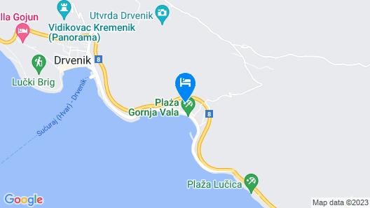 Hotel Bella Vista Map