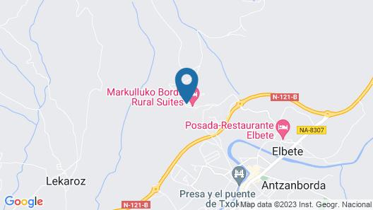 Markulluko Borda Rural Suites Map