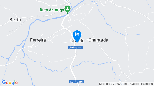 Casa Rural Restaurante Arrebol Map