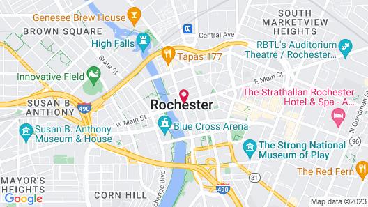 Hyatt Regency Rochester Map