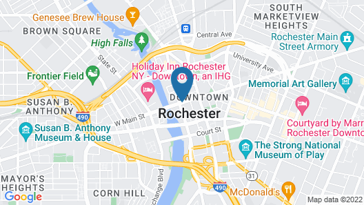 Hyatt Regency Rochester Map