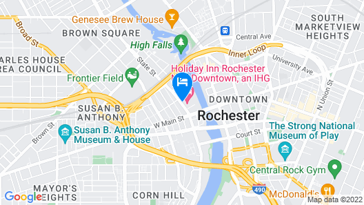 Holiday Inn Rochester Downtown, an IHG Hotel Map