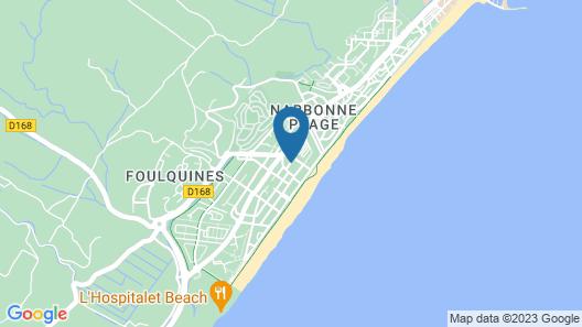 Hotel De la Clape Map