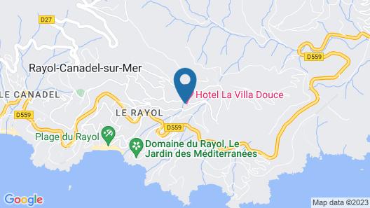 Hôtel La Villa Douce Map