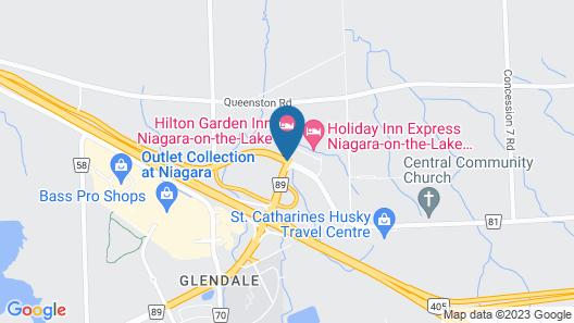Staybridge Suites Niagara-on-the-lake, an IHG Hotel Map