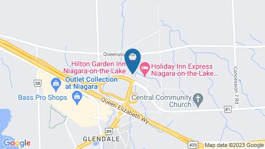 Hilton Garden Inn Niagara-on-the-Lake Map
