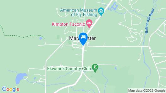 The Equinox Golf Resort & Spa Map