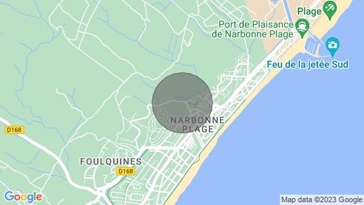 Charmant Pavillon proche plage 2/4 personnes Map