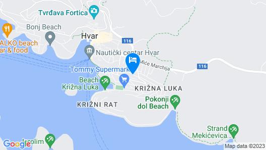Apartmani Ivanovic Map